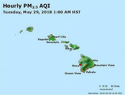 Hawaii Air Aqi Map Vog Fever Airnow