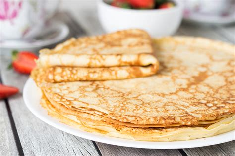 cuisine pancake pancakes blini with savory toppings