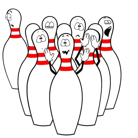 Bowling Pin Clipart Bowling Clipart