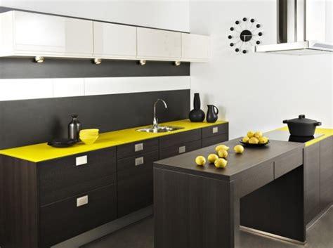 cuisine jaune inspiration décoration cuisine jaune