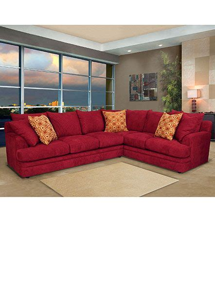 1000 ideas about red sectional sofa on pinterest red