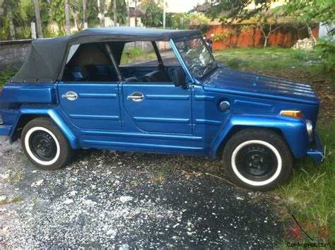 volkswagen jeep vw type 181 thing safari jeep 1976