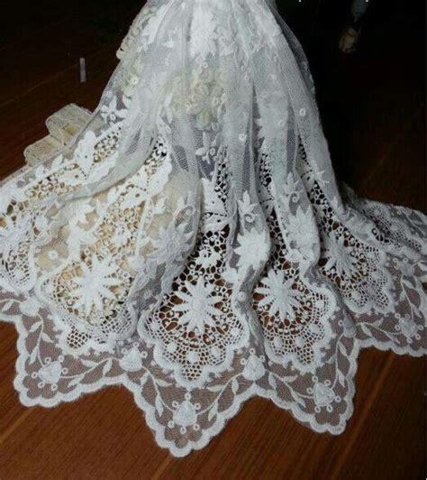 white bridal lace fabric wedding dress fabricwedding gown