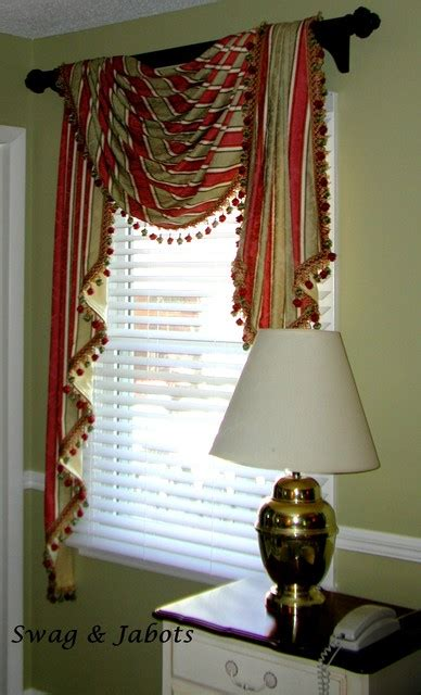 swag curtains for living room valances on rods traditional living room other metro