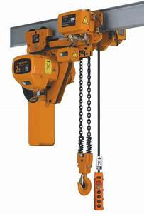 Hhb Type Low Headroom Electric Chain Hoist With Motor
