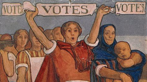 campaign  womens suffrage  introduction