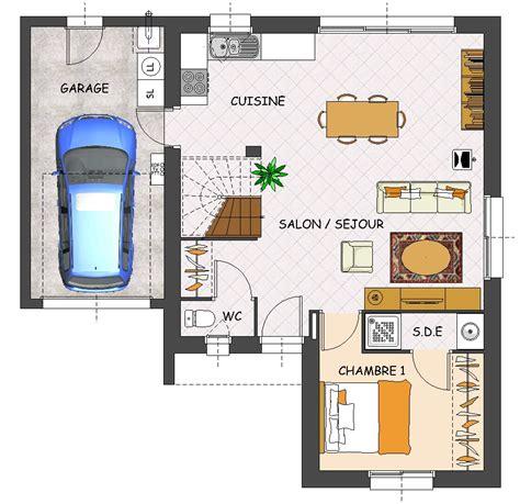 plan de maison 5 chambres construction maison neuve mimosa lamotte maisons