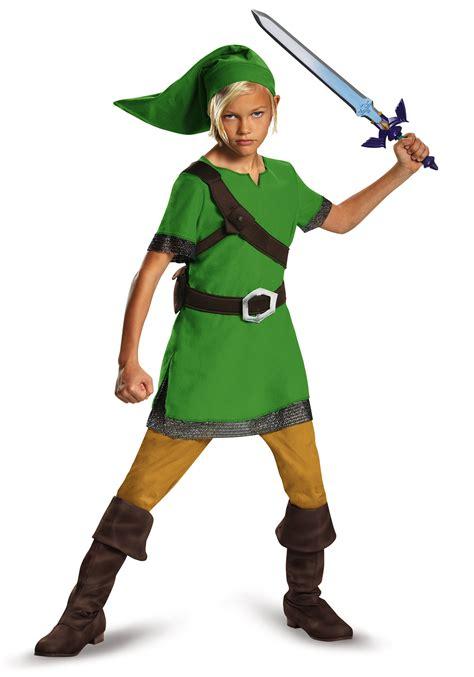 Boys Classic Link Legend Of Zelda Costume