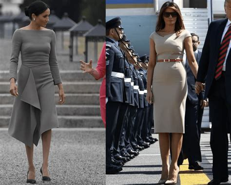 WATCH: First Lady Melania Trump Ditches Dress For Designer Pants - YouTube