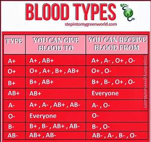 Blood Types  U0026 Its Matching Group