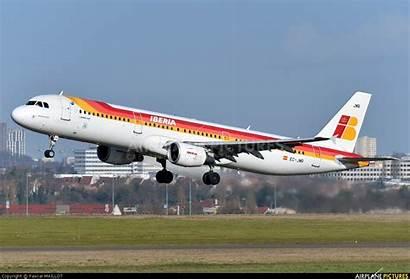 Iberia Jmr Ec A321 Airbus Airplane Usage