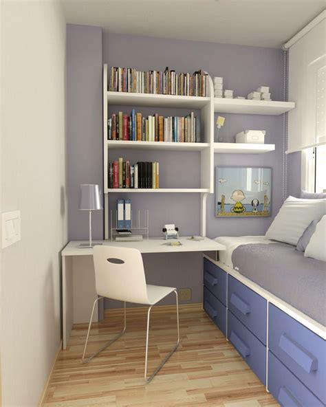 small bedroom space ideas bright small room for an adolescent would need a bigger bed though or small study with day bed
