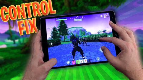 fix fortnite mobile controls atarjanbrussee youtube