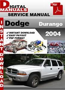 Dodge Durango 2004 Factory Service Repair Manual