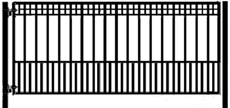 sliding gate opener solar powered athena 14 single swing driveway gate wrought iron