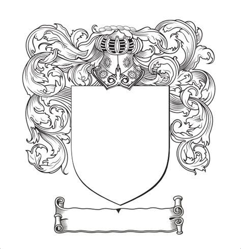 coat of arms template 13 sle coat of arms templates to sle templates
