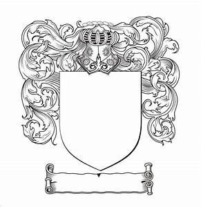 Blank Coat Of Arms Template Printable | Printable template ...