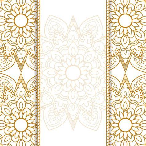 fondo ornamental de mandala vector gratis