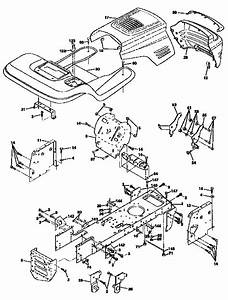 Scotts S1642 Drive Belt Diagram