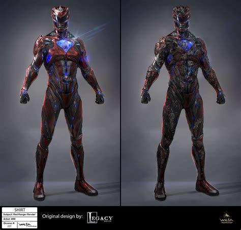 concept ranger ryan serrano saban s power rangers 2017 ranger suits