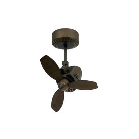 Oscillating Outdoor Ceiling Fan by Troposair Mustang 18 In Oscillating Rubbed Bronze Indoor