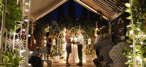las vegas outdoor weddings nighttime garden wedding packages