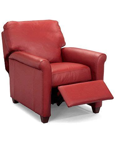 pavia leather club recliner chair