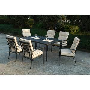 metro 7 piece patio dining set unassigned home walmart com