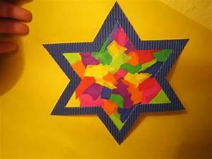 Sterne Zum Basteln : bunter leuchtstern kreative sterne aus papier basteln ~ Lizthompson.info Haus und Dekorationen
