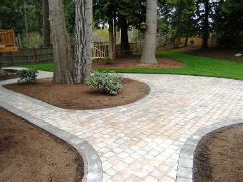 seattle landscaping pavers flagstone pavestone patio