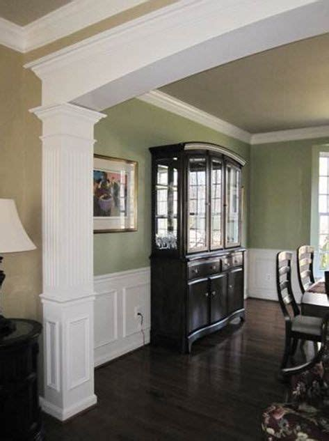 dining room molding ideas dining room with custom millwork archway chair rail and