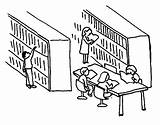 Library Drawing Coloring Pages Activity Colornimbus sketch template
