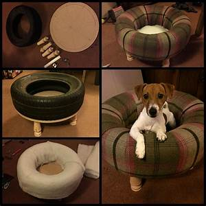 best dog bed ever using an old car tyre djur With best dog bed ever
