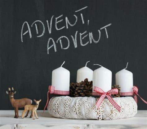 Moderne Adventsgestecke Basteln by Moderner Adventskranz Selber Basteln Gestrickt Weihnachten