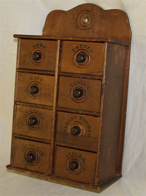 wall mounted spice cabinet bargain s antiques 187 archive wall mount wooden