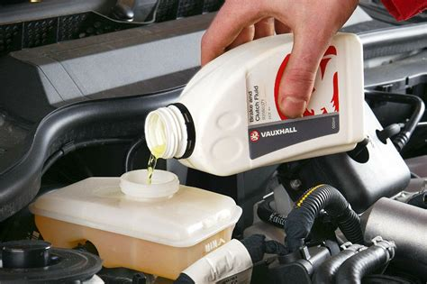 change  brake fluid