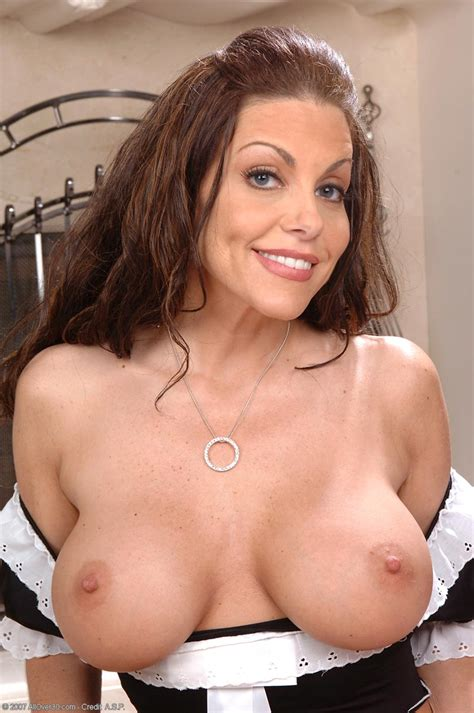 busty fit milf victoria valentino as a french maid free cougar sex