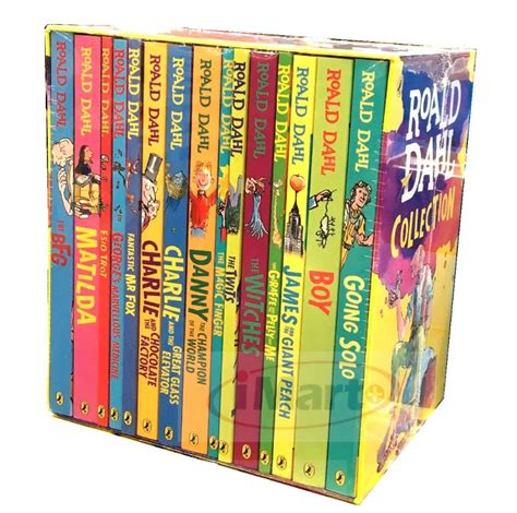 Takes Oakland Stories Boxed Set by Roald Dahl Collection 15 Books Box Set Phizz Wizzing
