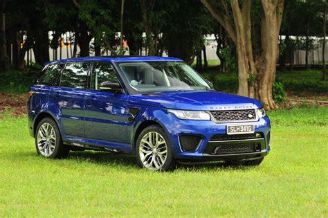 range rover sport blue range rover sport svr review torque