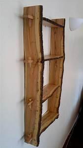 étagère Bois Brut : meuble tag re bois brut id es de d coration int rieure ~ Melissatoandfro.com Idées de Décoration