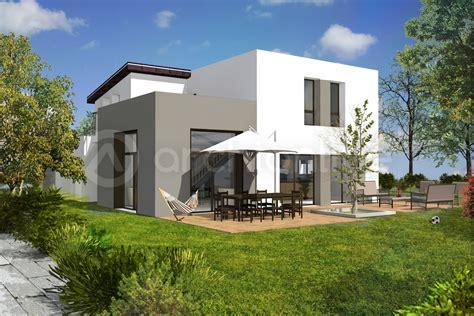 plan maison 4 chambres gratuit gorgeous plan maison en u plan de maison