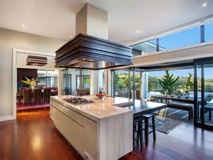 contemporary home in the - Kitchen Central Island