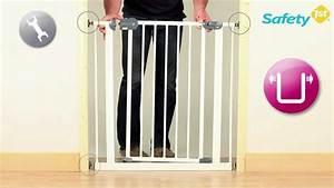 Barriere De Securite Escalier Ikea : montage d 39 une barri re de s curit b b par safety first ~ Dailycaller-alerts.com Idées de Décoration