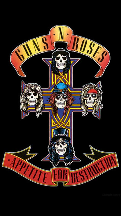 Guns N Roses iPhone Wallpaper WallpaperSafari