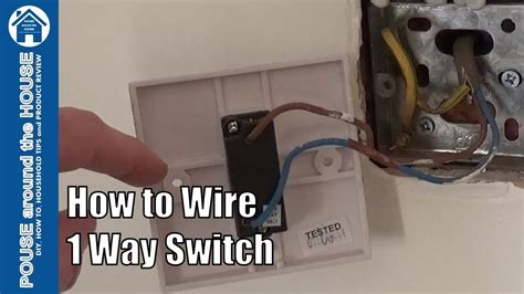 How Wire Way Light Switch One Lighting
