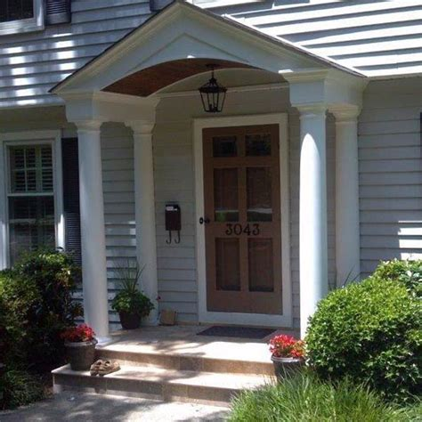 Front Door And Porch Ideas by Stunning Front Porches And Porticos Custom Deck Builder
