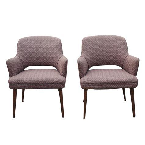 2 organic saarinen style mid century modern chairs