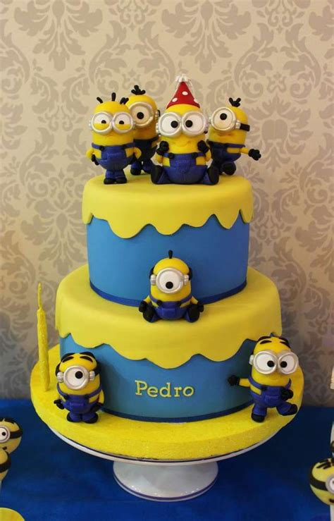 See more ideas about minion cake, minions, cupcake cakes. 1000+ images about Despicable Me/Minions Party Ideas on Pinterest | Minion cookies, Minion cakes ...