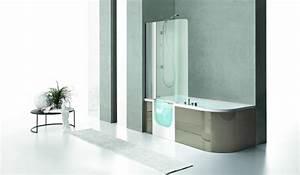 Duo Kinedo Baignoire Douche : combin baignoire douche une baignoire et une douche ~ Premium-room.com Idées de Décoration