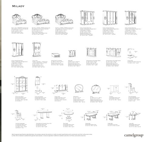 Living Room Furniture Dimensions